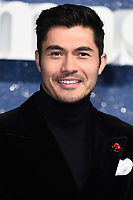 """LONDON, UK. November 11, 2019: Henry Golding arriving for the """"Last Christmas"""" premiere at the BFI Southbank, London.<br /> Picture: Steve Vas/Featureflash"""