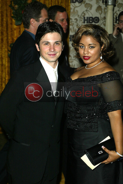 Freddy Rodriguez and wife