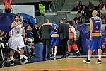 MADRID, Spain (22/01/11). Liga ACB de baloncesto, jornada 18, Real Madrid vs Asefa Estudiantes. Caja Magica...©Raul Perez .