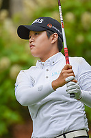 Haru Nomura (JPN) watches her tee shot on 14 during round 1 of the U.S. Women's Open Championship, Shoal Creek Country Club, at Birmingham, Alabama, USA. 5/31/2018.<br /> Picture: Golffile | Ken Murray<br /> <br /> All photo usage must carry mandatory copyright credit (&copy; Golffile | Ken Murray)