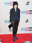 LOS ANGELES, CA - NOVEMBER 24: Joan Jett <br />  arrives at   The 2013 American Music Awards held at Nokia Live in Los Angeles, California on November 24,2013                                                                               &copy; 2013 Hollywood Press Agency