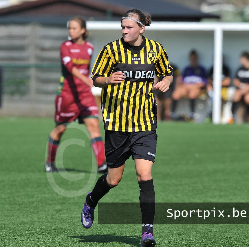WD Lierse SK : Elke Van Gorp.foto DAVID CATRY  / Vrouwenteam.be.