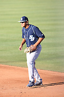 Victor Sanchez, San Diego Toreros in a series at Arizona State University, 4/5 - 4/6/2010 .Photo by:  Bill Mitchell/Four Seam Images.