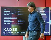 Bundestrainer Joachim Loew (Deutschland Germany)  mit dem Kader für die anstehenden Länderspiele - 15.03.2019: Pressekonferenz der Deutschen Nationalmannschaft, DFB Zentrale Frankfurt
