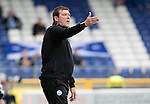 Inverness Caley Thistle v St Johnstone&hellip;27.08.16..  Tulloch Stadium  SPFL<br />An unhappy Tommy Wright has a go at his players<br />Picture by Graeme Hart.<br />Copyright Perthshire Picture Agency<br />Tel: 01738 623350  Mobile: 07990 594431