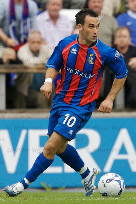 Richie Hart, Inverness Caledonian Thistle.stock season 2006-2007.pic willie vass