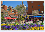 Just off the 16th Street Mall is Writer Square. From John's 5th book: &quot;Denver Colorado: A Photographic Portrait.&quot; <br />