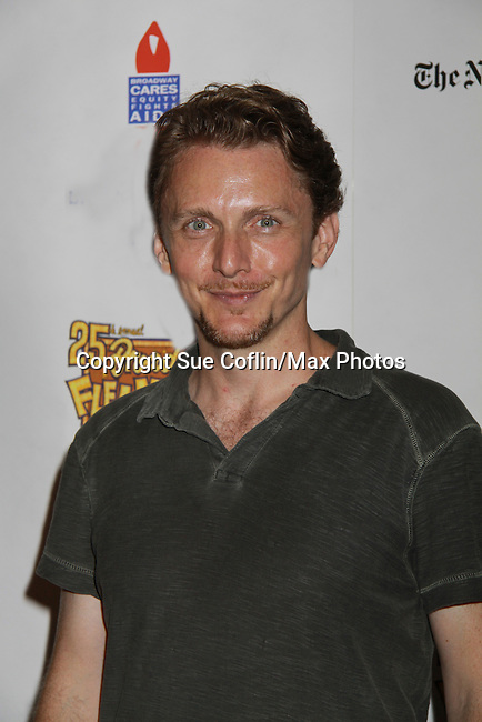 Jason Danieley (Next To Normal) attends the 25th Annual Broadway Flea Market & Grand Auction to benefit Broadway Cares/Equity Fights Aids on September 25, 2011 in New York City, New York.  (Photo by Sue Coflin/Max Photos)