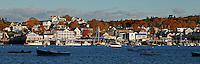 Autumn Light, Boothbay Harbor PANO