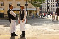 French Waiters - Paris France