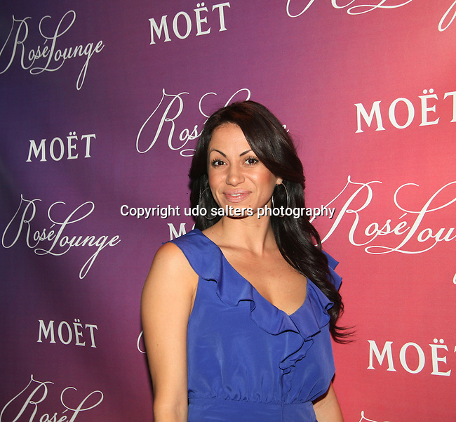 Disney English Choochoo Soul's  Genevieve Goings  Attends Moët & Chandon Hosts The Rose Lounge at the Press Lounge, Ink 48 6/15/10