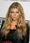 LOS ANGELES, CA. - February 05: Singer Fergie of The Black Eyed Peas arrives at the Black Eyed Peas Peapod Foundation benefit concert presented by Adobe Youth Voices inside the Conga Room at the Nokia Theatre L.A. Live on February 5, 2009 in Los Angeles, California.