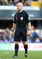 Referee Andy Woolmer<br /> <br /> Photographer David Shipman/CameraSport<br /> <br /> The EFL Sky Bet Championship - Ipswich Town v Preston North End - Saturday 3rd November 2018 - Portman Road - Ipswich<br /> <br /> World Copyright &copy; 2018 CameraSport. All rights reserved. 43 Linden Ave. Countesthorpe. Leicester. England. LE8 5PG - Tel: +44 (0) 116 277 4147 - admin@camerasport.com - www.camerasport.com