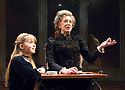 A Little Night Music,Music and Lyrics by Stephen Sondheim,Book by Hugh Wheeler, directed by Trevor Nunn. With Maureen Lipman as Mme Armfeldt,Grace Link as Fredrika Armfeldt.Opens at The Mernier Chocolate Factory Theatre on 3/12/08. CREDIT Geraint Lewis