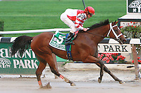 Favorite Havre De Grace with Ramon Dominguez easily win the Grade I Beldame for fillies & mares, 3-year old & up, at 1 1/8 mile at Belmont Park. Trainer Larry Jones. Owner Fox Hill Farm