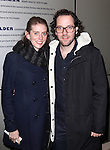Amy Herzog and Sam Gold attending the Opening Night Performance of 'The Whale' at Playwrights Horizons' Peter Jay Sharpe Theater in New York City on 11/05/2012