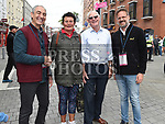 Bernadette Bannon and Paul Brassil with Tolga Salman and Kagan Korod from Turkey. Photo:Colin Bell/pressphotos.ie