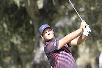 Patrick Reed (USA) tees off the 3rd tee at Monterey Peninsula CC during Saturday's Round 3 of the 2018 AT&amp;T Pebble Beach Pro-Am, held over 3 courses Pebble Beach, Spyglass Hill and Monterey, California, USA. 10th February 2018.<br /> Picture: Eoin Clarke | Golffile<br /> <br /> <br /> All photos usage must carry mandatory copyright credit (&copy; Golffile | Eoin Clarke)