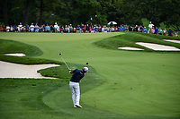 Si Woo Kim (KOR) hits his approach shot on 7 during Rd3 of the 2019 BMW Championship, Medinah Golf Club, Chicago, Illinois, USA. 8/17/2019.<br /> Picture Ken Murray / Golffile.ie<br /> <br /> All photo usage must carry mandatory copyright credit (© Golffile   Ken Murray)