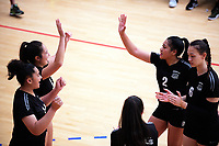 Action from the Volleyball NZ 50th National Club Championship women's division one match between the Waitakere Rebels and Mauao Warriors at ASB Sports Centre in Wellington, New Zealand on Saturday, 12 October 2017. Photo: Dave Lintott / lintottphoto.co.nz
