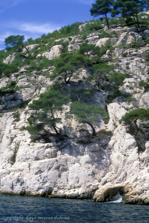 Les Calanques of the Provence region of France