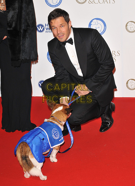 Paul Sculfor attends the Collars &amp; Coats Gala Ball 2015, Battersea Evolution, Battersea Park, London, England, UK, on Thursday 12 November 2015. <br /> CAP/CAN<br /> &copy;CAN/Capital Pictures