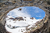 Lucho Birkner, Los Huasamacos del Sur - cave sector; Valle des los Condores.