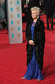London, UK. 14 February 2016. Actress Julie Walters. Red carpet arrivals for the 69th EE British Academy Film Awards, BAFTAs, at the Royal Opera House. © Vibrant Pictures/Alamy Live News
