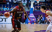 5th September 2017, Fenerbahce Arena, Istanbul, Turkey; FIBA Eurobasket Group D; Turkey versus Belgium; Point Guard Jonathan Tabu #9 of Belgium in action during the match