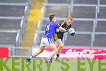 Johnny Buckley of Dr Crokes and Conor Ryan of Cratloe in the AIB Munster Senior Football Final played last Sunday in The Gaelic Grounds, Limerick.