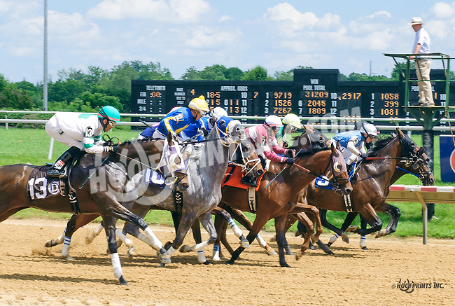 Racetrack Romance winning at Delaware Park on 6/6/16