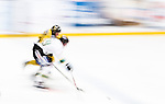 Stockholm 2014-11-16 Ishockey Hockeyallsvenskan AIK - IF Bj&ouml;rkl&ouml;ven :  <br /> Bj&ouml;rkl&ouml;vens Emil Lundberg i kamp om pucken med en AIK:s Robin Kovacs <br /> (Foto: Kenta J&ouml;nsson) Nyckelord:  AIK Gnaget Hockeyallsvenskan Allsvenskan Hovet Johanneshov Isstadion Bj&ouml;rkl&ouml;ven L&ouml;ven IFB panorering panorera