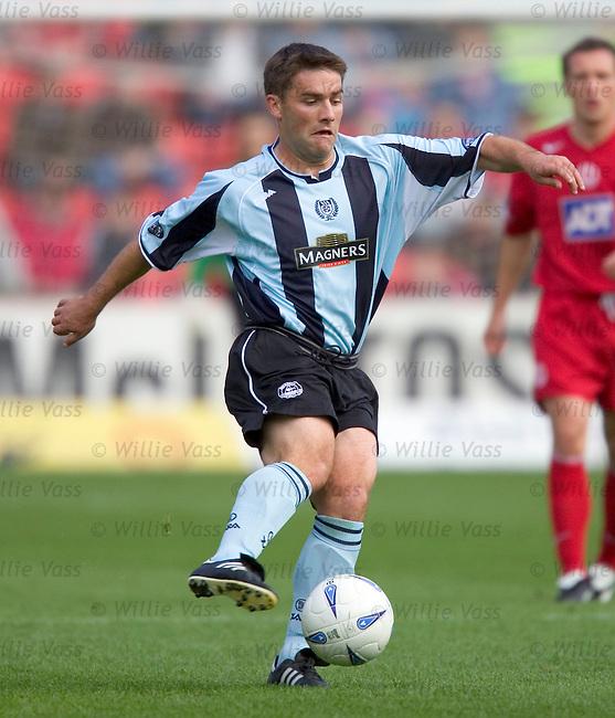Iain Anderson, Dundee.stock season 2004-2005.pic willie vass