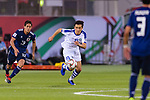 Otabek Shukurov of Uzbekistan runs with the ball during the AFC Asian Cup UAE 2019 Group F match between Japan (JPN) and Uzbekistan (UZB) at Khalifa Bin Zayed Stadium on 17 January 2019 in Al Ain, United Arab Emirates. Photo by Marcio Rodrigo Machado / Power Sport Images