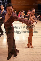 0801241078c UK Open dance competition. International Centre,  Bournemouth, United Kingdom. Thursday, 24. January 2008. ATTILA VOLGYI