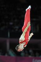 03.08.2012. London, England. Mens Trampoline Finals   North Greenwich Arena . BURNETT Jason  Canada 2012 London Olympic Games.