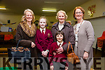 At the Moyderwell Primary School Grandparents Day on Thursday were Patricia O'Connor, Cliona O'Connor, Saoirse O'Connor, Nora O'Connor with Moire Quinlan, Principal
