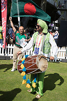 A combination of colour and sound during Pakistan vs Bangladesh, ICC World Cup Cricket at Lord's Cricket Ground on 5th July 2019