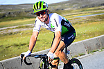 Bernhard Eisel (AUT) Team Dimension Data all smiles during Stage 3 of the 2018 Artic Race of Norway, running 194km from Honningsvg to Hammerfest, Norway. 18th August 2018. <br /> <br /> Picture: ASO/Pauline Ballet | Cyclefile<br /> All photos usage must carry mandatory copyright credit (© Cyclefile | ASO/Pauline Ballet)
