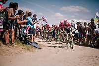 Team EF Education First -DRAPAC p/b cannondale on pav&eacute; sector #2<br /> <br /> Stage 9: Arras Citadelle &gt; Roubaix (154km)<br /> <br /> 105th Tour de France 2018<br /> &copy;kramon