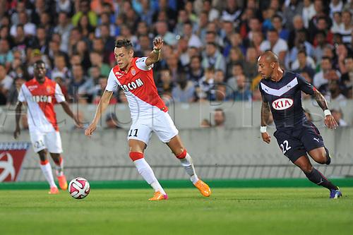 17.08.2014. Bordeaux, France. French League 1 football. Bordeaux versus Monaco.  LUCAS OCAMPOS