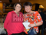 Betty McMullen celebrating her 50th birthday in the Grove House Dunleer with friend Barbara Doran. Photo:Colin Bell/pressphotos.ie