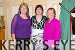 Geraldine Moloney, Liz Keane and Mary Buckley  (Duagh/Lyre Community Games)  enjoying  the Community Games Awards Dinner at the River Island Hotel Castleisland on Friday