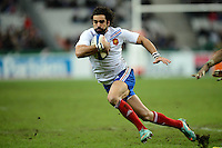 Yoann HUGET (fra) .Parigi 24/11/2012 Saint Denis.Rugby Test Match .Francia Vs Samoa.Foto Anthony Bibard / Panoramic / Insidefoto.ITALY ONLY