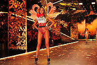 NEW YORK, NY - NOVEMBER 08: Candice Swanepoel at the 2018 Victoria's Secret Fashion Show at Pier 94 on November 8, 2018 in New York City. Credit: John Palmer/MediaPunch
