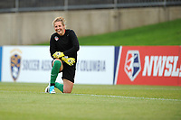 Boyds, MD - Saturday May 6, 2017: DiDi Haracic prior to a regular season National Women's Soccer League (NWSL) match between the Washington Spirit and Sky Blue FC at Maureen Hendricks Field, Maryland SoccerPlex.