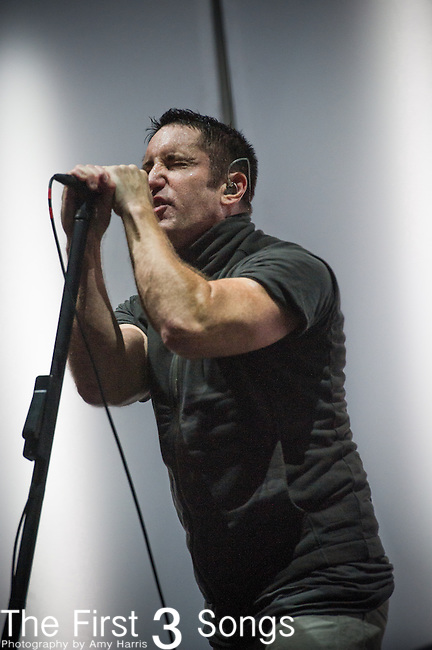 Trent Reznor of Nine Inch Nails performs at the Outside Lands Music & Art Festival at Golden Gate Park in San Francisco, California.