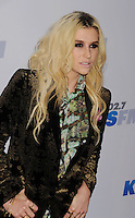LOS ANGELES, CA - DECEMBER 03: Ke$ha attends the KIIS FM's Jingle Ball 2012 held at Nokia Theatre LA Live on December 3, 2012 in Los Angeles, California.PAP1212JP341