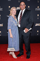 MIAMI, FL - FEBRUARY 1: Carrie Matthews and Bruce Matthews attend the 2020 NFL Honors at the Ziff Ballet Opera House during Super Bowl LIV week on February 1, 2020 in Miami, Florida. (Photo by Anthony Behar/Fox Sports/PictureGroup)