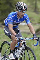 ITALIA - 29-05-2014. Julian Arredondo, ciclista colombiano del equipoTrek durante etapa 18 entre Belluno y Panarotta sobre 171 kilómetros, y se ha apuntado la victoria en la cima de Panarotta en la versión 97 del Giro de Italia / Julian Arredondo, Colombian cyclist of the Trek Team during the stage 18 between Belluno and Panarotta about 171 kilometers, and has registered the win on top of Panarotta in version 97 of the Giro d'Italia.    Photo: VizzorImage/ Fabio Ferrari / LaPresse……….VIZZORIMAGE PROVIDES THE ACCESS TO THIS PHOTOGRAPH ONLY AS A PRESS AND EDITORIAL SERVICE AND NOT IS THE OWNER OF COPYRIGHT; ANOTHER USE HAVE ADDITIONAL PERMITS AND IS  REPONSABILITY OF THE END USER